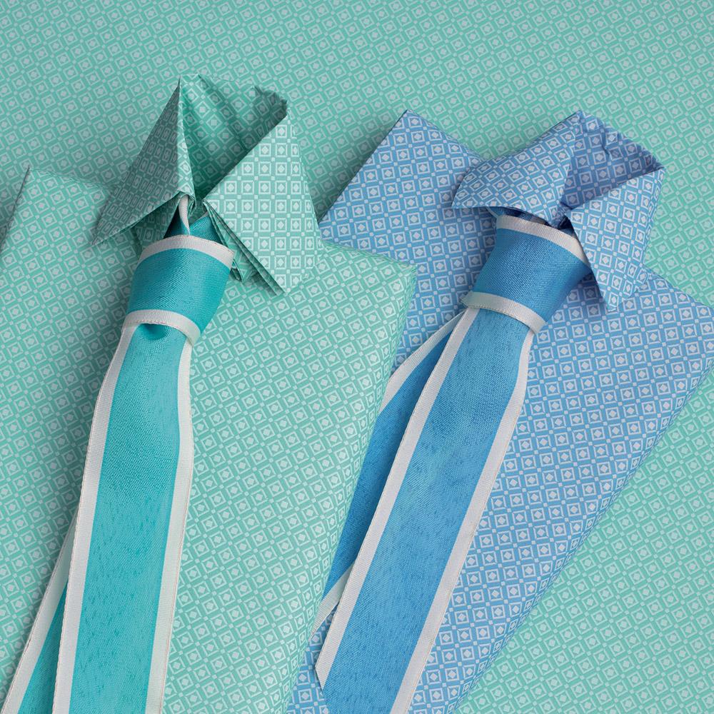 Pacco camicia e cravatta
