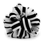 Fiocco Bianco e Nero in tessuto per pacchetto icone app