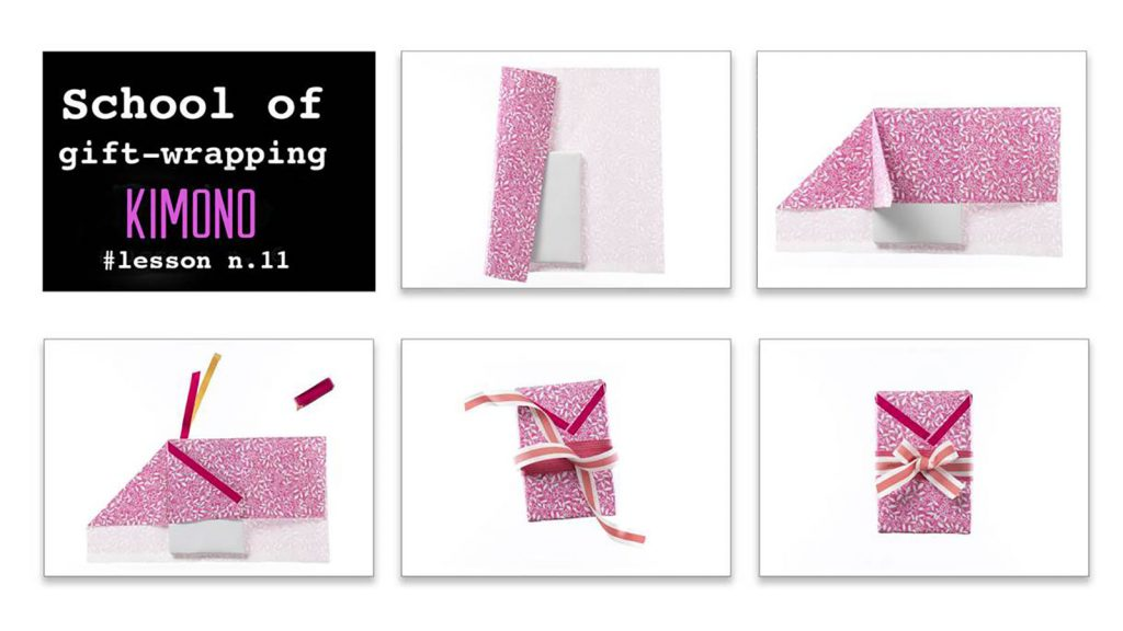 Tutorial: pacchettino regalo a kimono