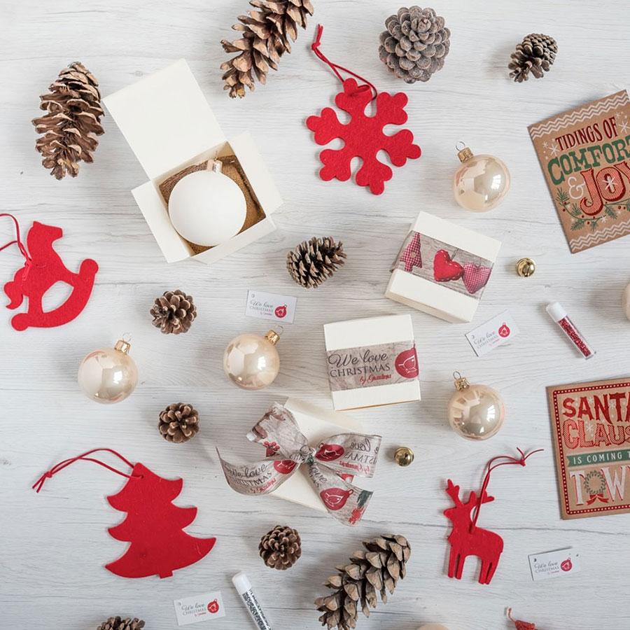 Nastri personalizzati natalizi
